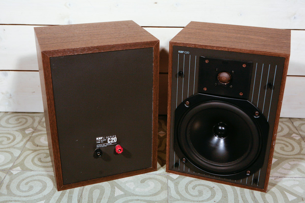 KEF C20 Speakers http://www.ebay.com/itm/KEF-C20-Bookshelf-Vintage-High-End-Speakers-Altavoces-Lautsprecher-Perfect-HI-FI-/190817299157